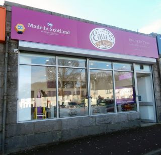 Equi's ice cream Aberdeen